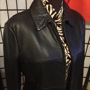 Genuine Leather Jacket  GUC